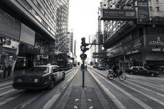 Nathan Road Royalty Free Stock Photography
