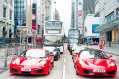 Nathan Road Royalty Free Stock Images