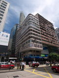 Nathan road in tsim sha tsui Royalty Free Stock Images