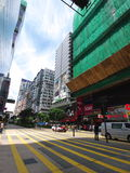 Nathan road in tsim sha tsui. Nathan Road in Hong Kong Kowloon stock images
