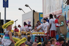 The 2015 Nathan's Famous Hot Dog Eating Contest Part 2  41 Royalty Free Stock Photo