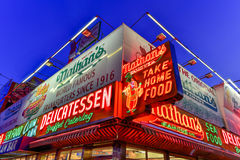 Nathan's Famous Hotdogs Royalty Free Stock Photo
