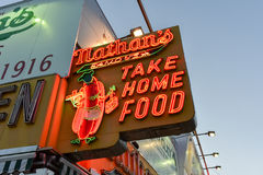 Nathan's Famous Hotdogs, Original - Brooklyn, NY Stock Images