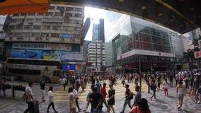 Nathan väg Hong Kong lager videofilmer
