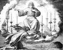 耶稣叫菲利普和Nathanael 免版税图库摄影