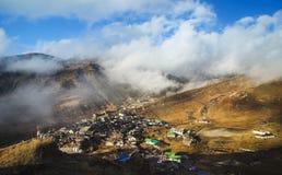 Nathang-Tal, Sikkim - Indien stockfotografie