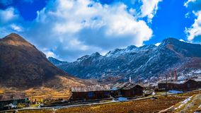 Nathang valley east sikkim northeast Stock Images