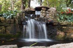 Nathaniel Green Park Springfield Missouri vattenfall Arkivbilder