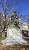 Nathaniel Hawthorne statue Royalty Free Stock Photos