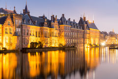Natherlands Parliament Hague Royalty Free Stock Images