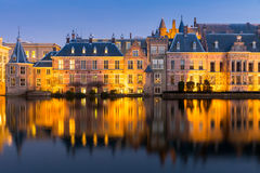 Natherlands Parliament Hague Royalty Free Stock Photography