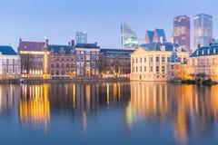 Natherlands Parliament Hague Royalty Free Stock Photo