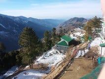 Nathia Gali - Pakistan. A beautiful and breathtaking view of Nathia Gali, northern areas of Pakistan royalty free stock images