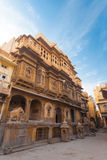 Nathmal Ki Haveli Mansion Angle Stock Image
