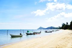 Nathon-Strand, Samui, Thailand Stockfotos