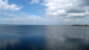 Nathsagar jezioro Jayakwadi Fotografia Stock