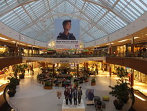 Natick Mall in Natick, Massachusetts Stock Image