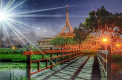Natiepark Royalty-vrije Stock Fotografie