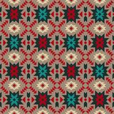 Natif américain, Indien, Aztèque, Navajo, bagout sans couture géométrique illustration de vecteur