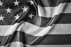Nation, america, state, flag, government, freedom, national, patriotic, wave,. American flag, symbol of the American state. Beautifully waving star and striped royalty free stock photo