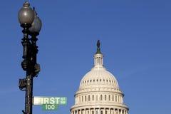 Nation Capitol building in Washington DC Stock Photos