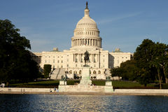 Nation Capitol building in Washington DC Stock Photo
