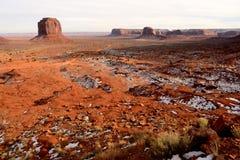Nation de Navajo de l'Arizona de vallée de monument Image stock