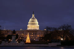 nation de Noël de capitol notre s Photo stock