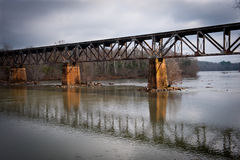 Nation Ford Rail Road Bridge Stock Images