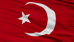 Nation of Islam Religious Close Up Waving Flag stock video