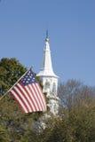 Nation und Kirche Stockbild