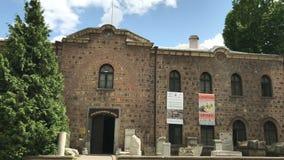 Nationaal Archeologisch Museum in Sofia stock video
