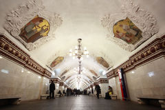 Nationaal architectuurmonument - metro post Royalty-vrije Stock Foto