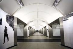Nationaal architectuurmonument - metro post Royalty-vrije Stock Foto's