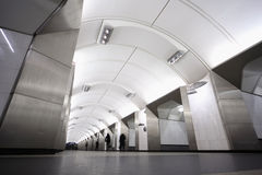 Nationaal architectuurmonument - metro post Royalty-vrije Stock Afbeeldingen