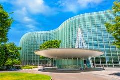 Nationaal Art Center in Roppongi, Tokyo, Japan stock foto's