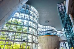 Nationaal Art Center in Roppongi, Tokyo, Japan stock afbeelding