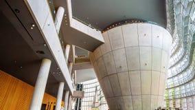 Nationaal Art Center in Roppongi, Tokyo, Japan stock fotografie