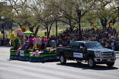 2016 Nationaal Cherry Blossom Parade in Washington DC Royalty-vrije Stock Foto