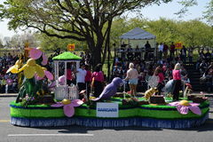 2016 Nationaal Cherry Blossom Parade in Washington DC Stock Afbeeldingen