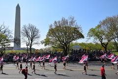 2016 Nationaal Cherry Blossom Parade in Washington DC Stock Foto