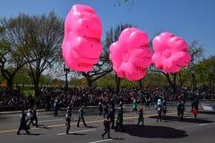 2016 Nationaal Cherry Blossom Parade in Washington DC Stock Foto's