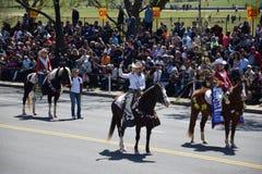 2016 Nationaal Cherry Blossom Parade in Washington DC Royalty-vrije Stock Afbeeldingen