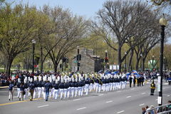 2016 Nationaal Cherry Blossom Parade in Washington DC Stock Afbeelding