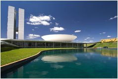 Nationaal Congres - Brasilia stock foto's