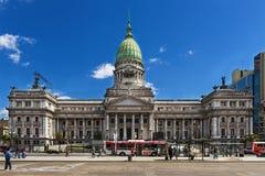 Nationaal Congres van Argentinië, in Buenos aires stock fotografie