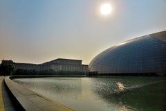 Nationaal Groot Theater in Peking Royalty-vrije Stock Foto's