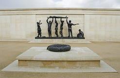Nationaal Herdenkingsarboretum, het UK stock afbeelding