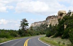 Nationaal het Behoudsgebied van New Mexico, Gr Malpais: Versmalt stock afbeeldingen