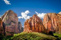 Nationaal het parklandschap van Zion Royalty-vrije Stock Afbeelding